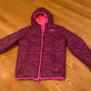 Other - North face girls reversible jacket